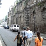 Carlos Celdran's walking tour of Manila