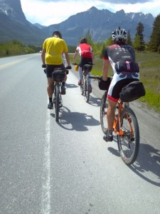 Banff and the starting point of the race awaits us...
